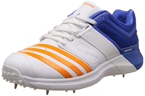 Adidas Spike AdiPower Vector Cricket Shoes for Men 9 UK