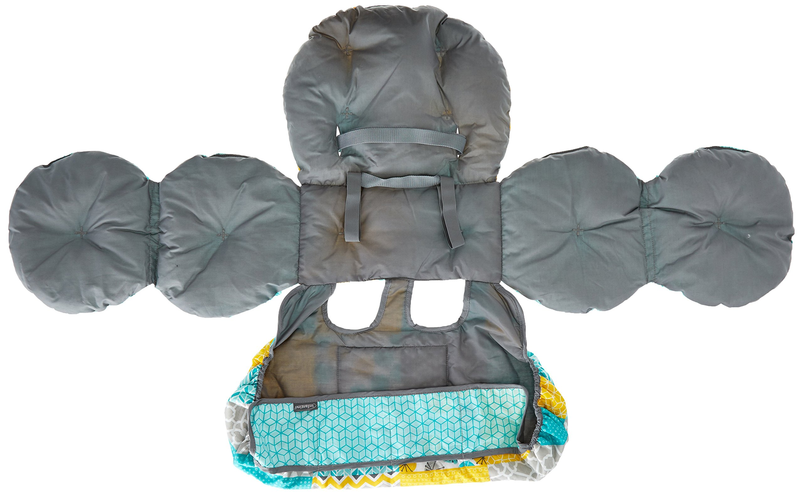Infantino Unisex Baby Upright Travel Necessities Supportive Cart Cover, Teal by Infantino (Image #3)