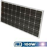 Jws - Panel solar monocristalino 100w 12v [importado de alemania]