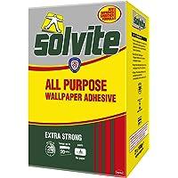 Solvite Multifunctionele behanglijm, betrouwbare lijm voor behang, multifunctionele lijm met langdurige resultaten…