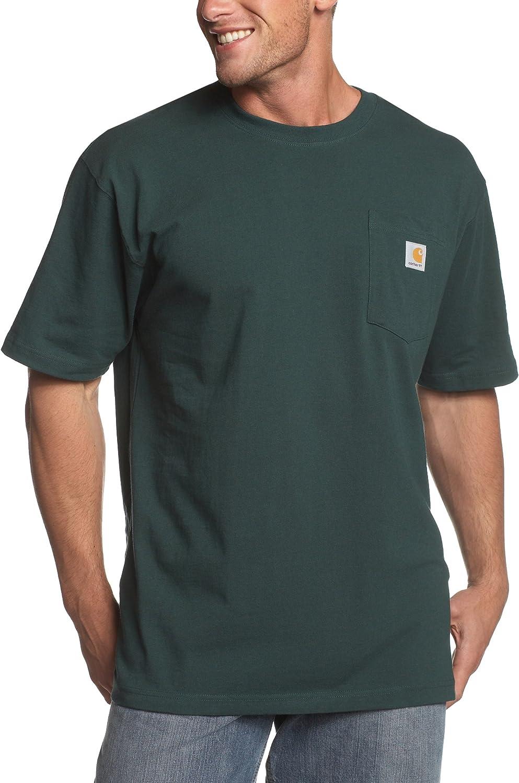 Carhartt Men's K87 Workwear Pocket Short Sleeve T-Shirt (Regular and Big & Tall Sizes) |