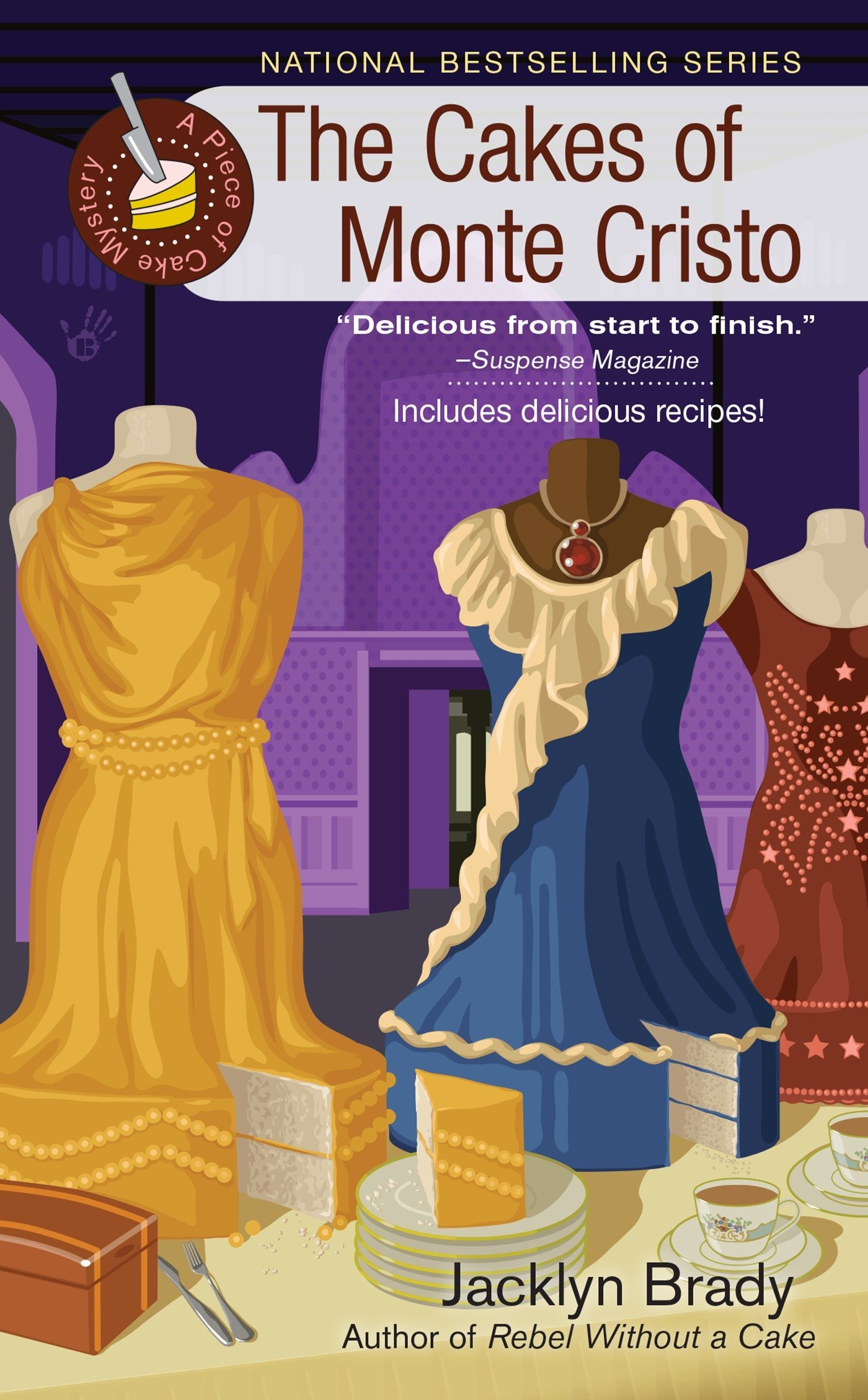 Download The Cakes of Monte Cristo (A Piece of Cake Mystery) PDF