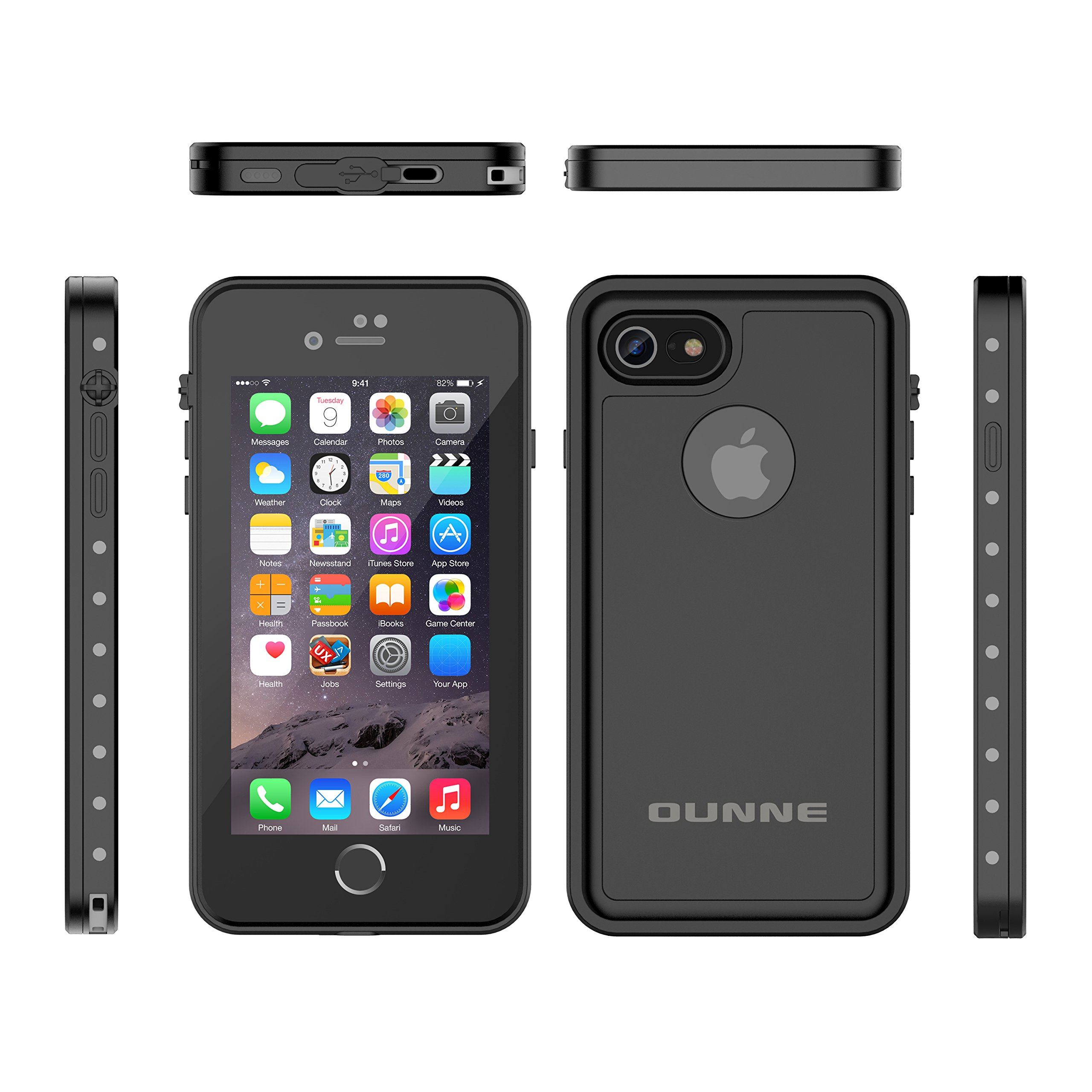 reputable site bff58 3c986 iPhone 7/8 Waterproof Case, OUNNE Underwater Full Sealed Cover ...