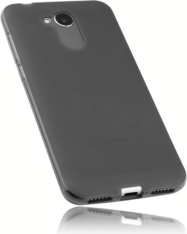 Mumbi Funda Compatible con Honor 6A Caja del teléfono móvil, Negro ...