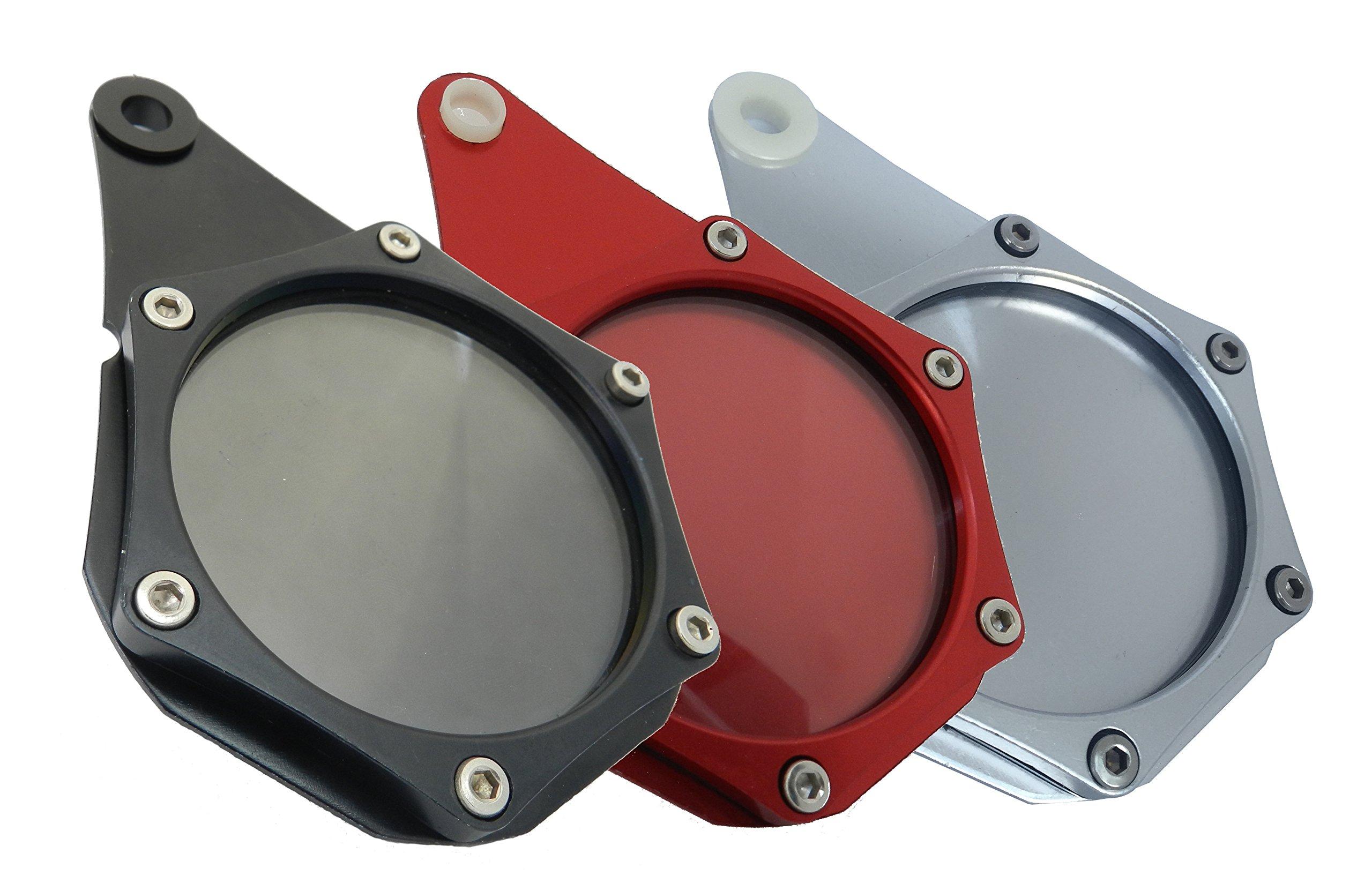HopIn! Porte-Vignette Assurance ou Crit'Air Aluminium Noir étanche Moto/Scooter/Quad product image