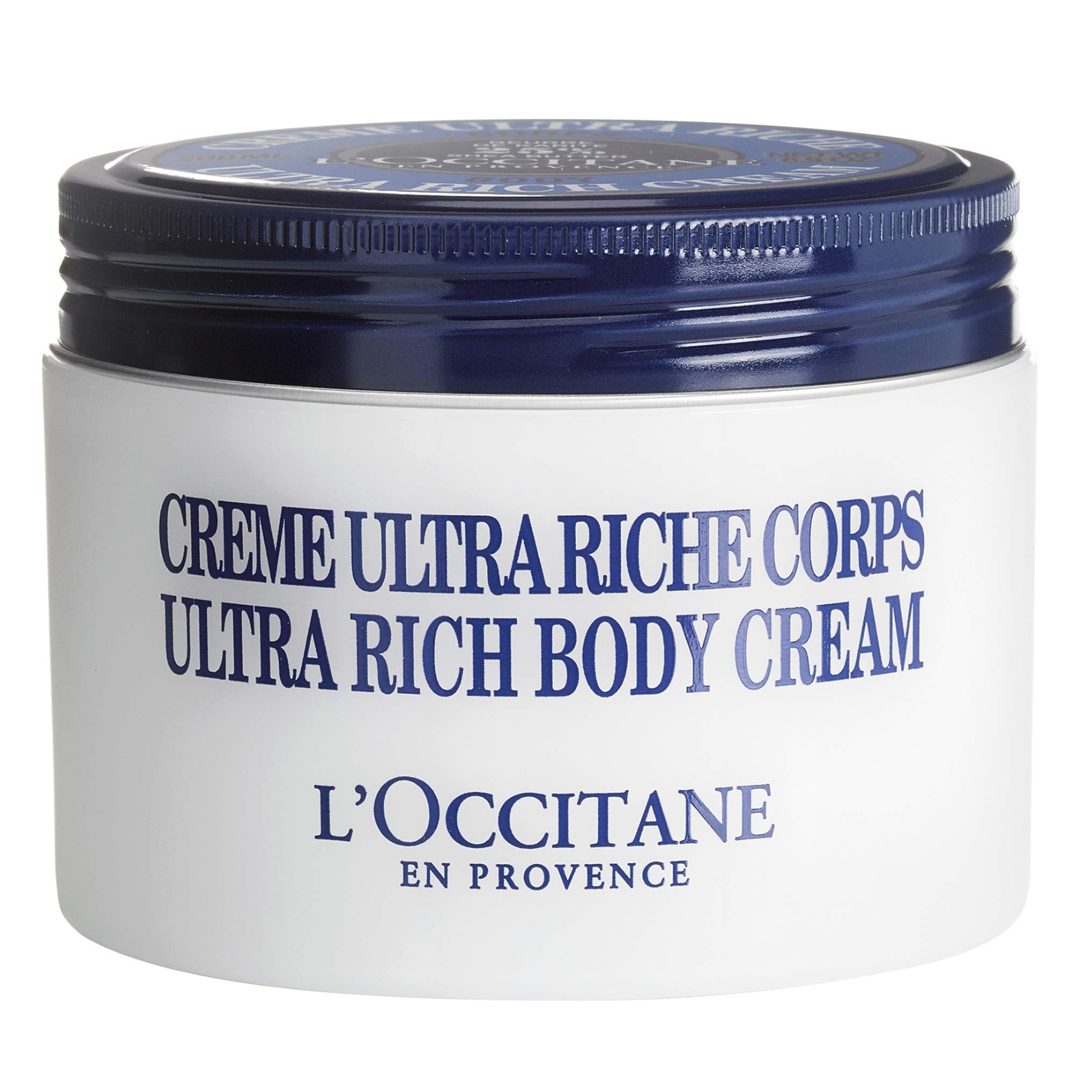 L'Occitane Moisturizing 25% Shea Butter Ultra-Rich Body Cream, Net Wt. 6.9 oz by L'Occitane