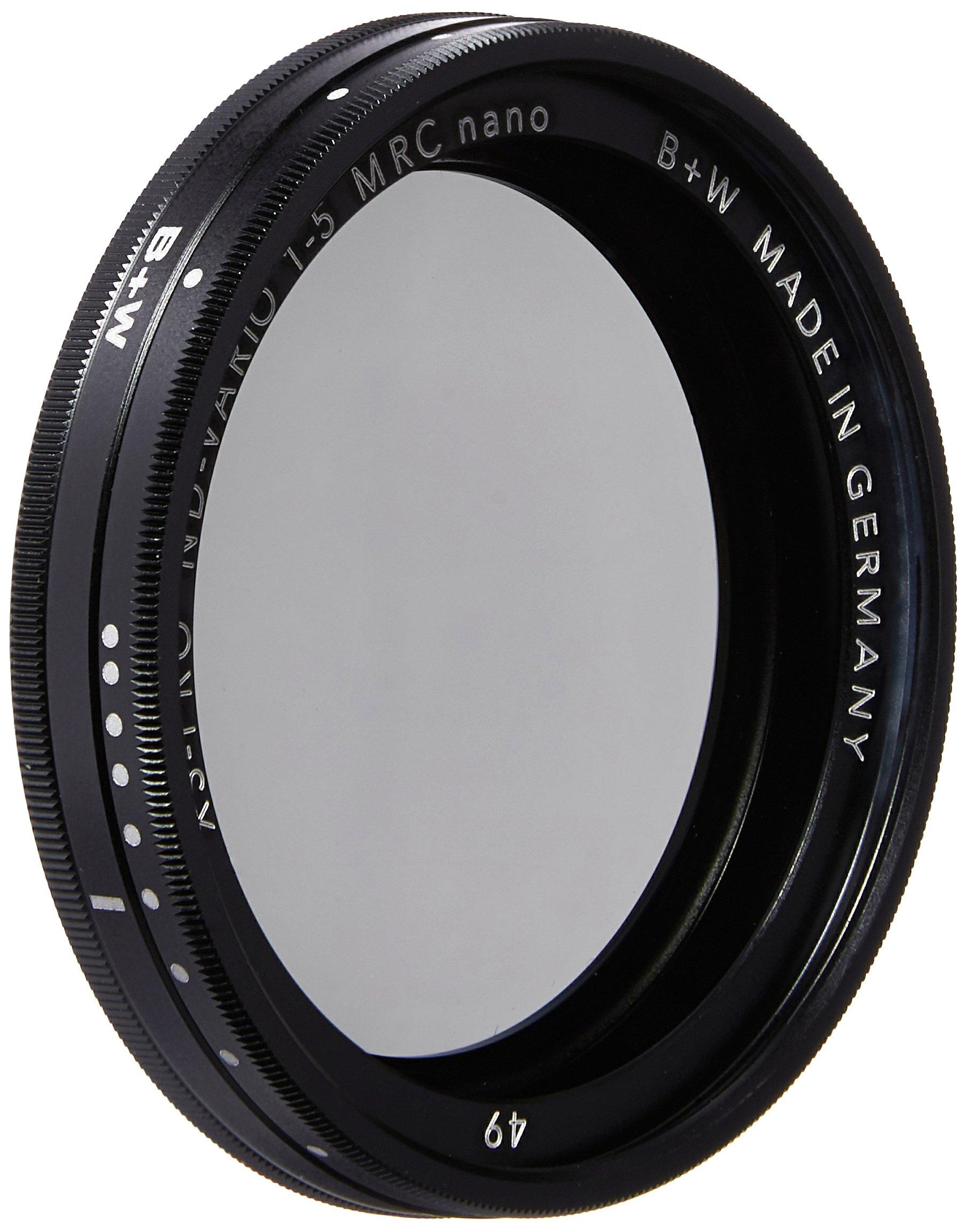 B+W 49mm XS-Pro Digital Vario ND with Multi-Resistant Nano Coating by Schneider Optics