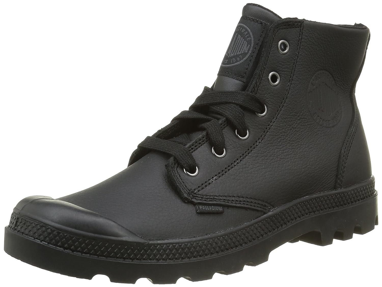 Palladium Herren Pampa Hi VL H Hohe Sneaker, Noir Black  41 EU|Schwarz (466 Black/Black)