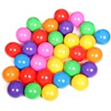 """VIAHART Pack of 200 Pit Balls, Big Plastic Ball 2.8"""" (7 cm) Phthalate Free BPA Free Crush Proof 