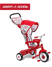 Radio Flyer Ultimate 4-in-1 Stroll 'N Trike Ride On, Red