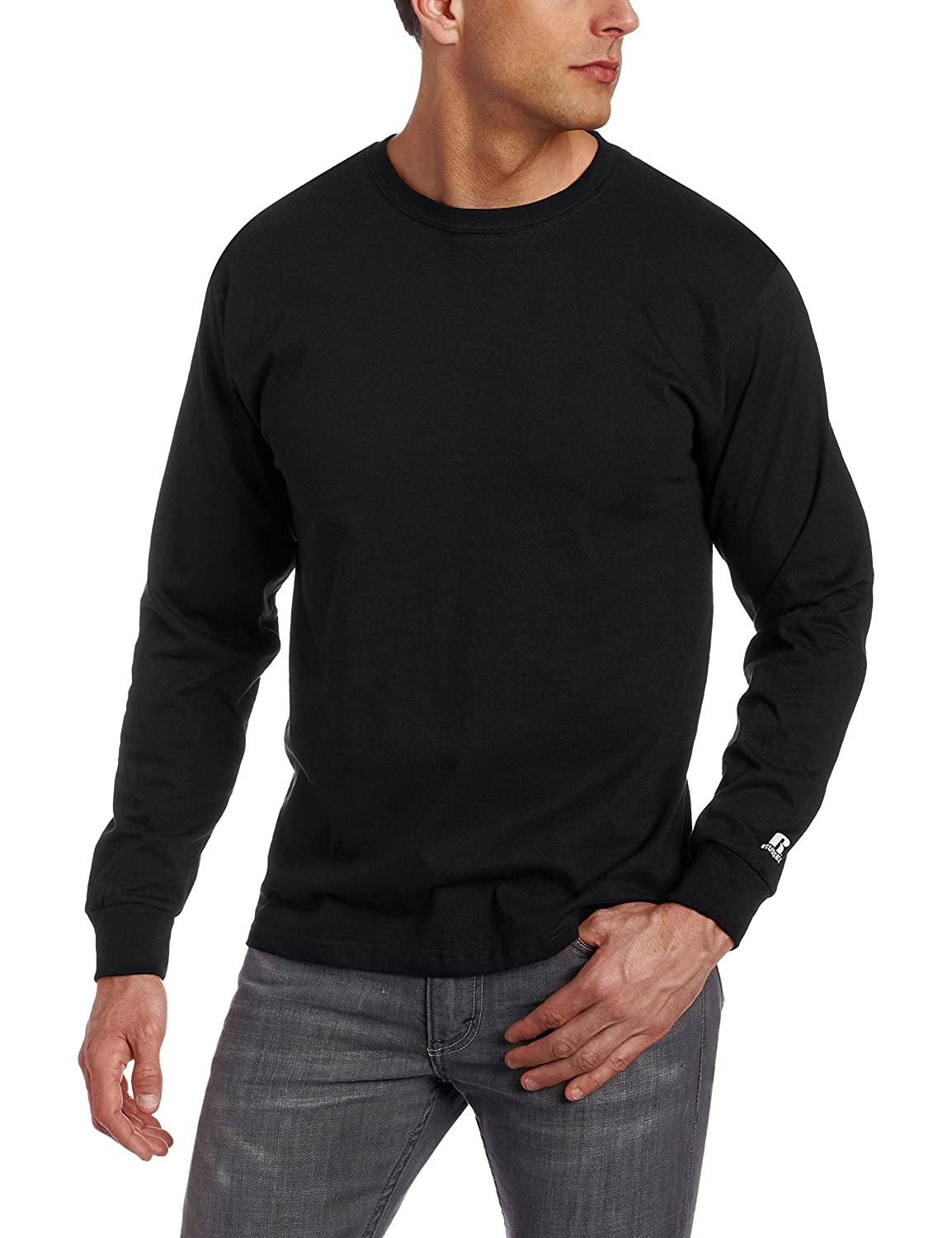 Navy Long Sleeve T Shirt