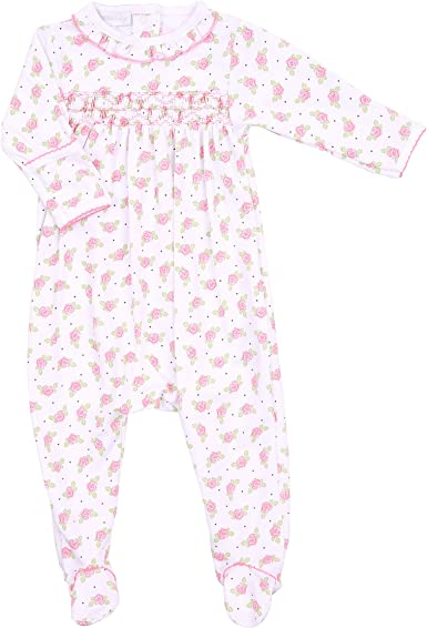 Magnolia Baby Baby Girl Cocos Classics Short Pajamas Pink