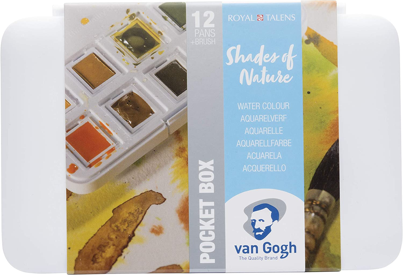 Caja De Bolsillo De Acuarela De Bolsillo Van Gogh-Sombras De La Naturaleza: Amazon.es: Hogar