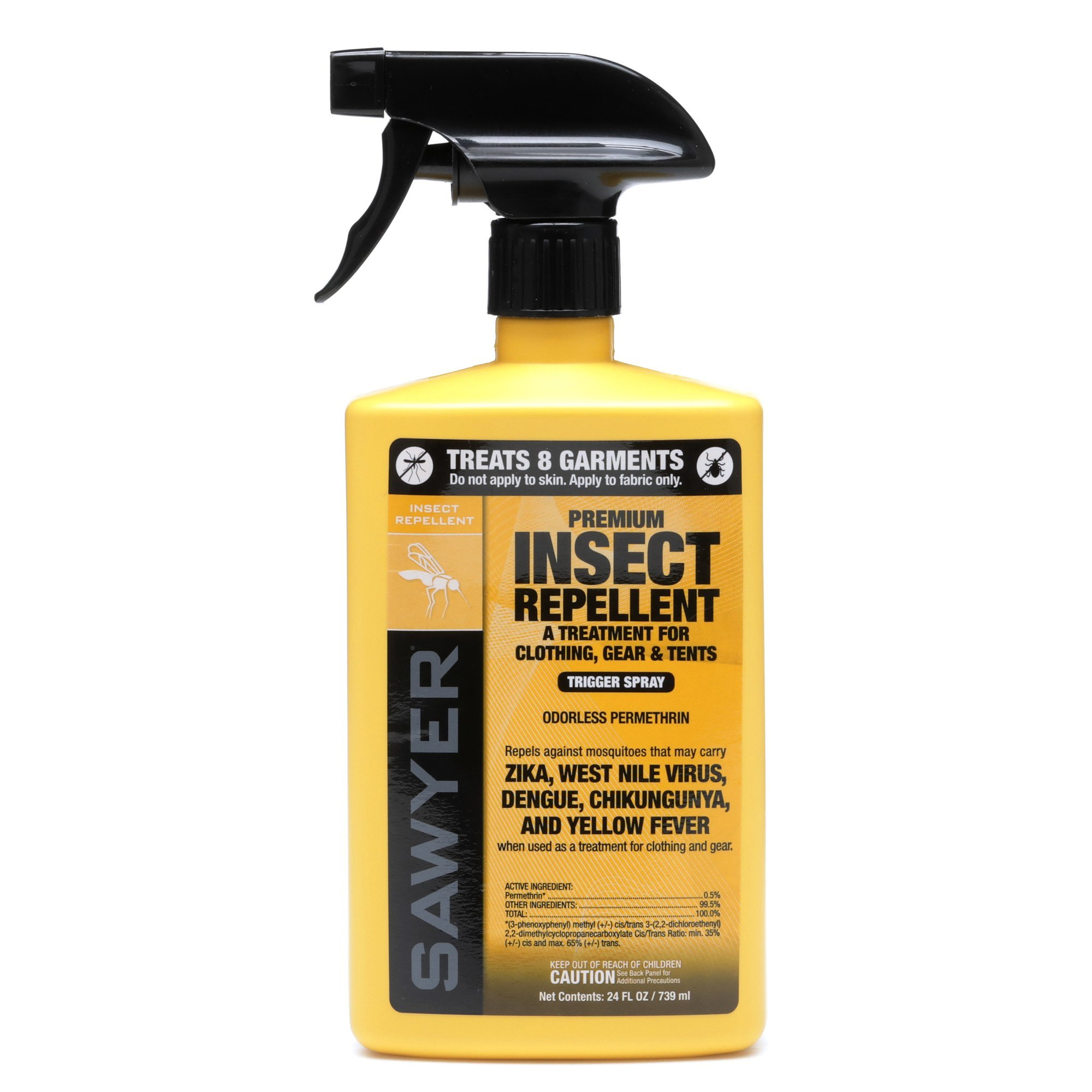 Sawyer Products SP657 Premium Permethrin Clothing Insect Repellent Trigger Spray, 24-Ounce by Sawyer Products