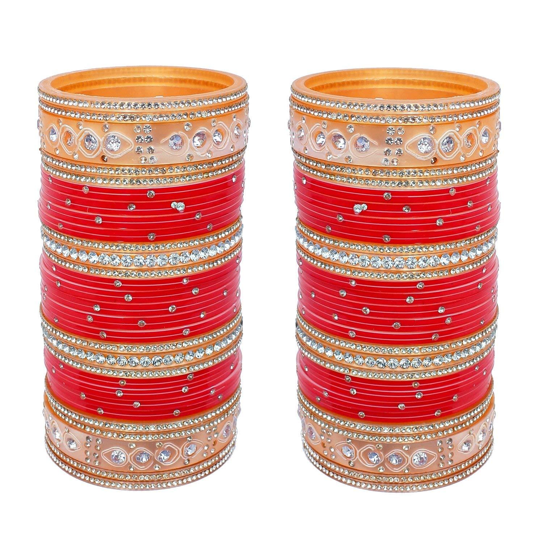 Punjabi Choora Stone Fashion Chura Set