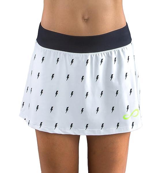 Endless Minimal Thunder Falda de Tenis, Mujer