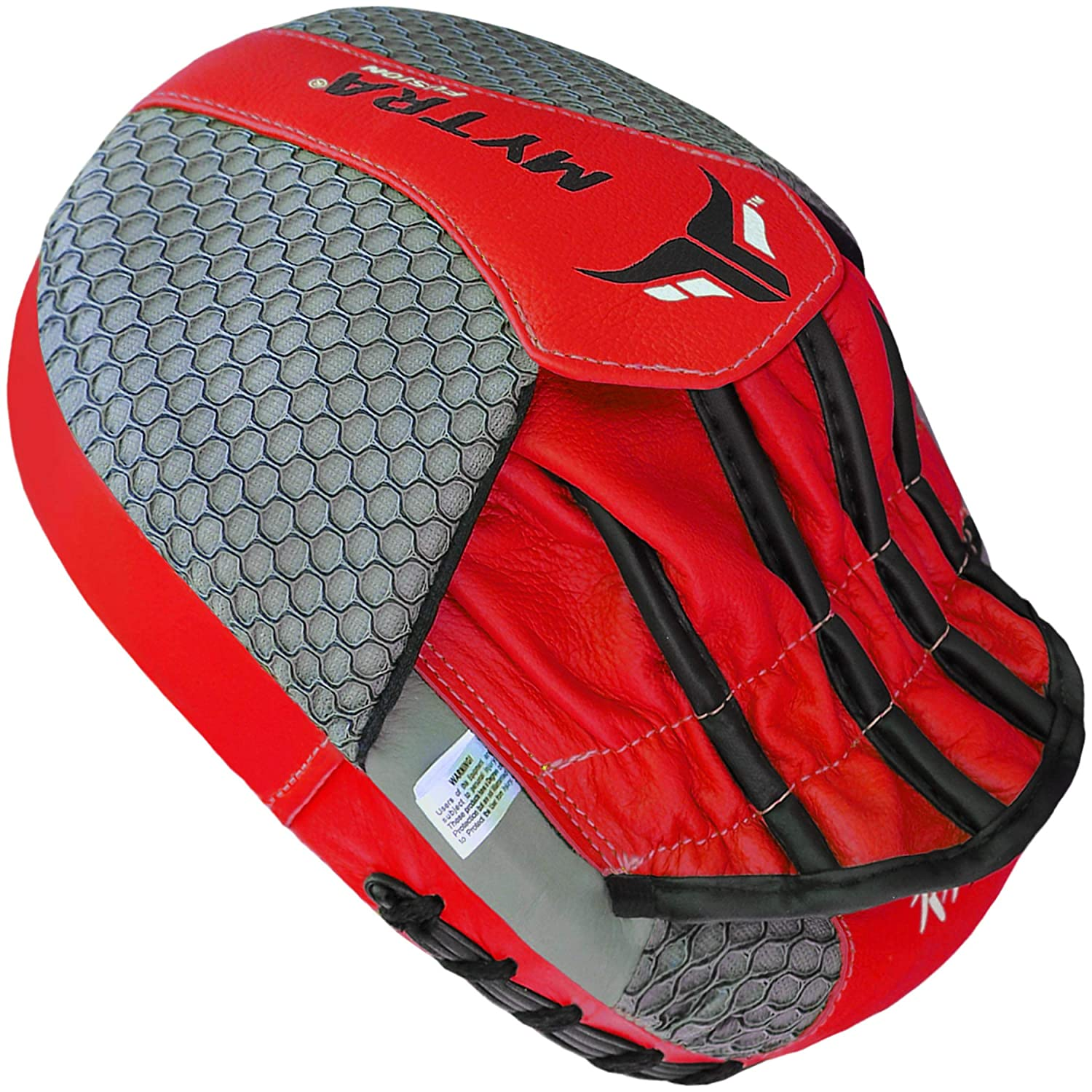 Mytra Fusion Synthetic Leather Curved Focus Pad for Boxing ...