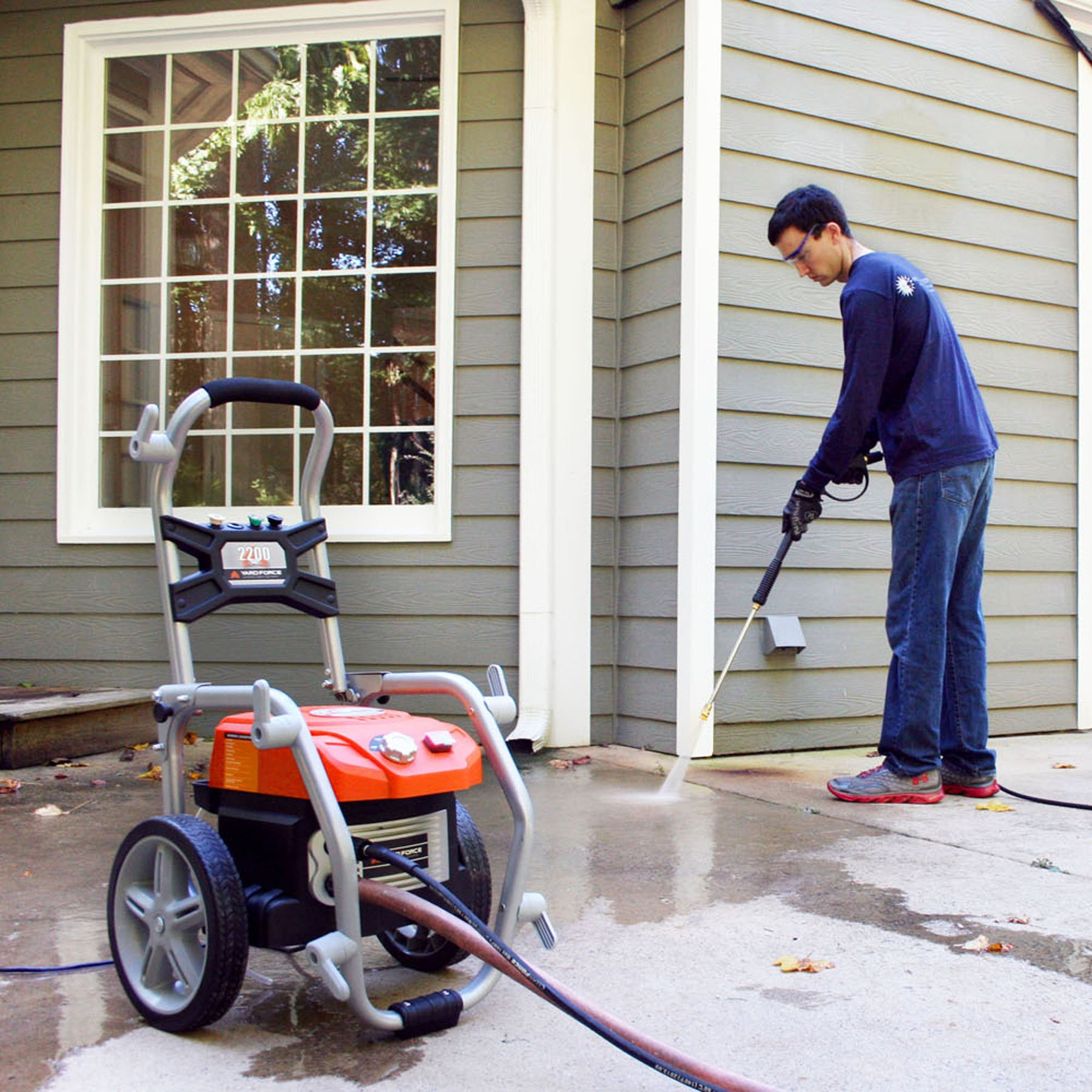 Yard Force YF2200BL Electric Brushless Pressure Washer 2200 PSI by YardForce (Image #4)