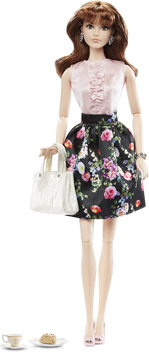 Barbie Doll Model Muse The Look Sweet Tea Outfit Floral Skirt Pink Ruffle Blouse