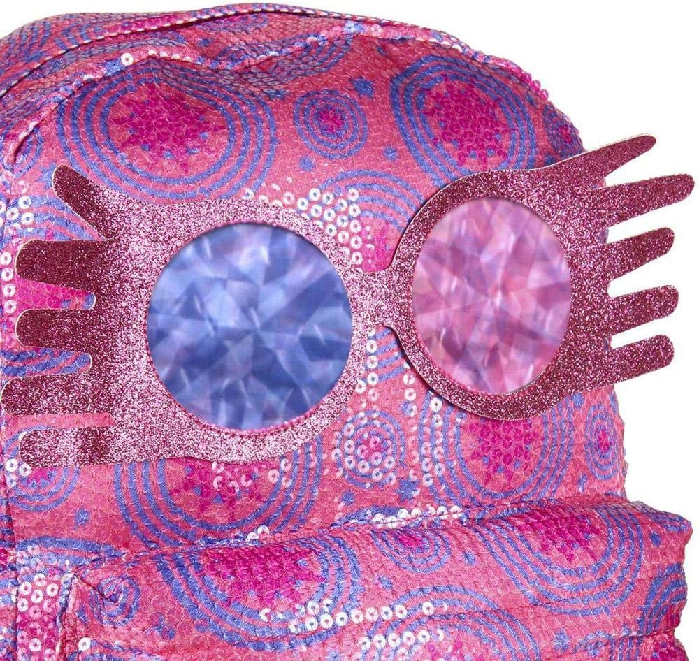 42 cm Artesania Cerda Mochila Casual Lentejuelas Harry Potter Luna Lovegood Cartable Rose Rosa