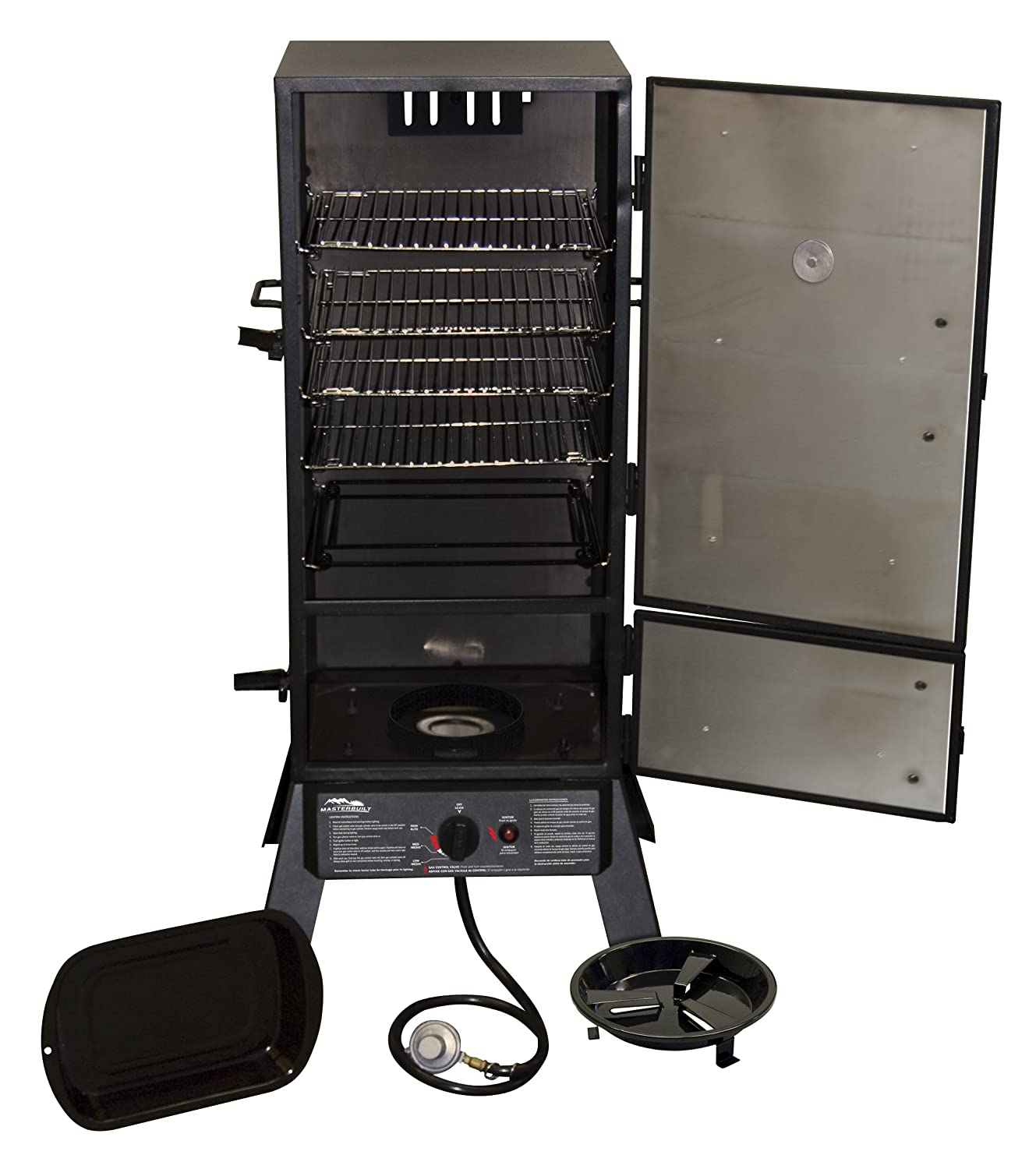 amazon com masterbuilt 20051311 gs30d 2 door propane smoker