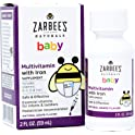 Zarbee's 2 Ounce Natural Grape Flavor Naturals Baby Multivitamin w/Iron