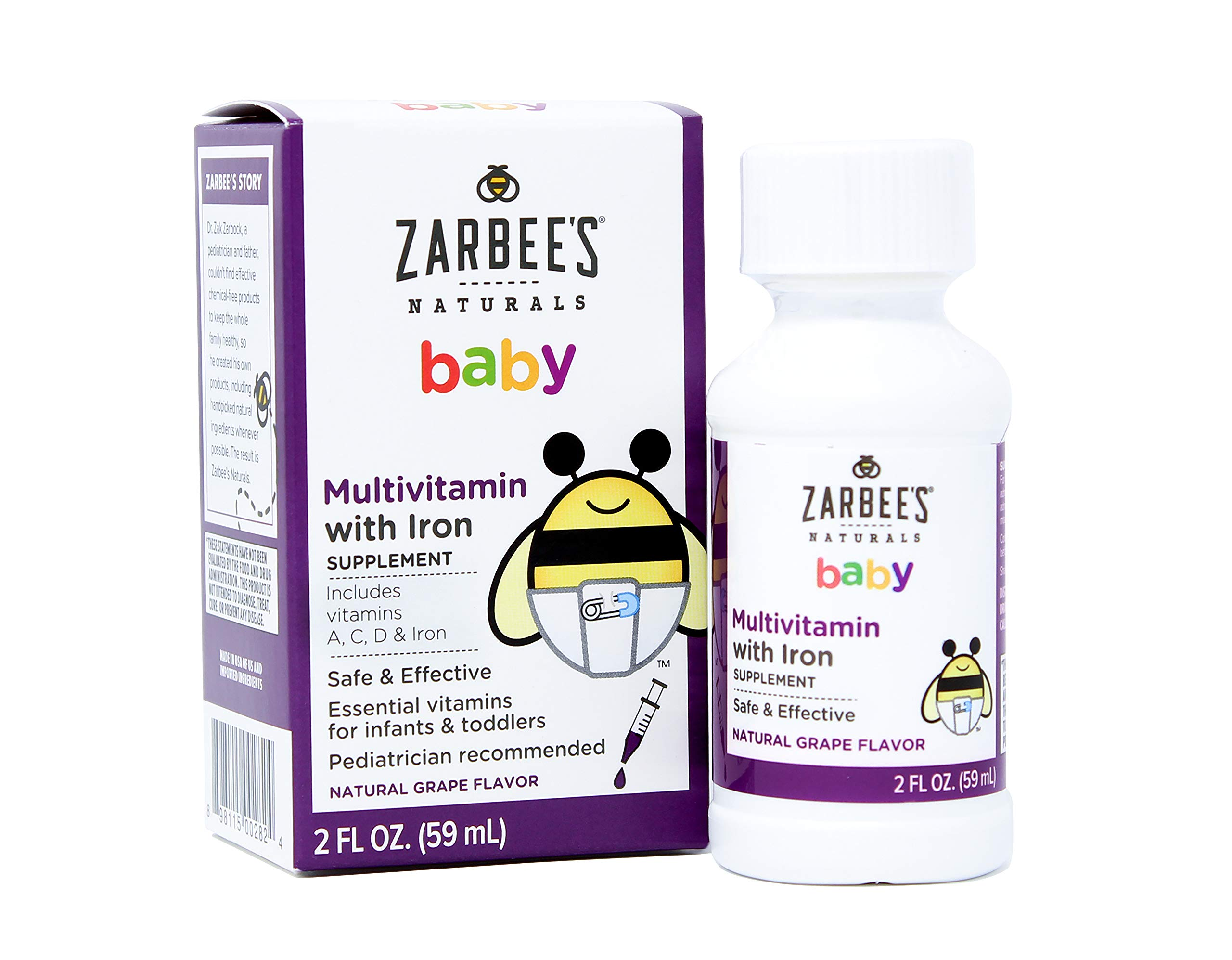 Amazon Com Zarbee S Naturals Baby Probiotic Supplement