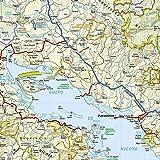 Costa Rica Adventure Travel Map