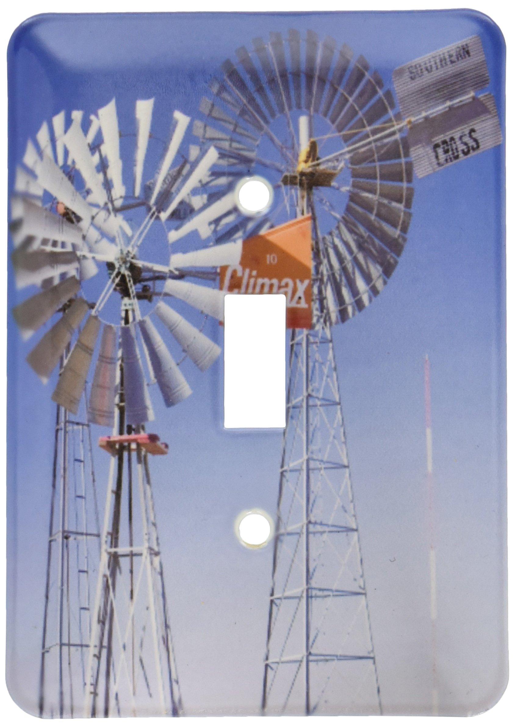 3dRose lsp_94600_1  Texas, Wind Power, Historic Windmills, Energy Us44 Wbi0081 Walter Bibikow Single Toggle Switch