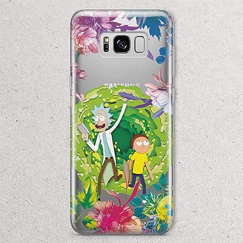 size 40 9a07a e59be Amazon.com: Rick and Morty Portal Gun for Samsung Galaxy S9 S8 Plus ...