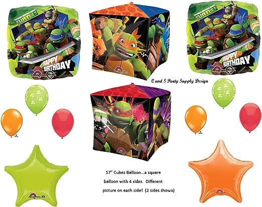 44Teenage Mutant Ninja Turtles AirWalker Foil Balloon Birthday Party Decoration