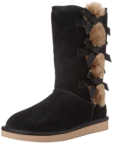 Koolaburra by UGG Women's Victoria Tall Fashion Boot, Black, ...
