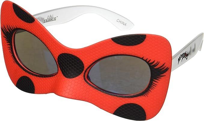 Amazon.com: Costume Sunglasses Miraculous Ladybug Sun-Staches Party Favors UV400: Toys & Games