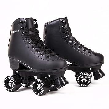 Cal 7 Universal interior exterior Speedy para patines para jóvenes y adultos, Negro