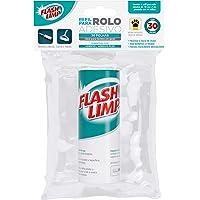 Refil recarga para rolo adesivo com 30 folhas, removedor de pelos e fiapos, CST0078, Flash Limp