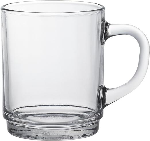 Amazon.com: Duralex 4020ar06 Versailles - Juego de tazas (6 ...