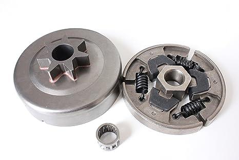 Y&F 1123 160 2050 - Piñón de Embrague para Motosierra Stihl MS210 MS230 MS250 021 023