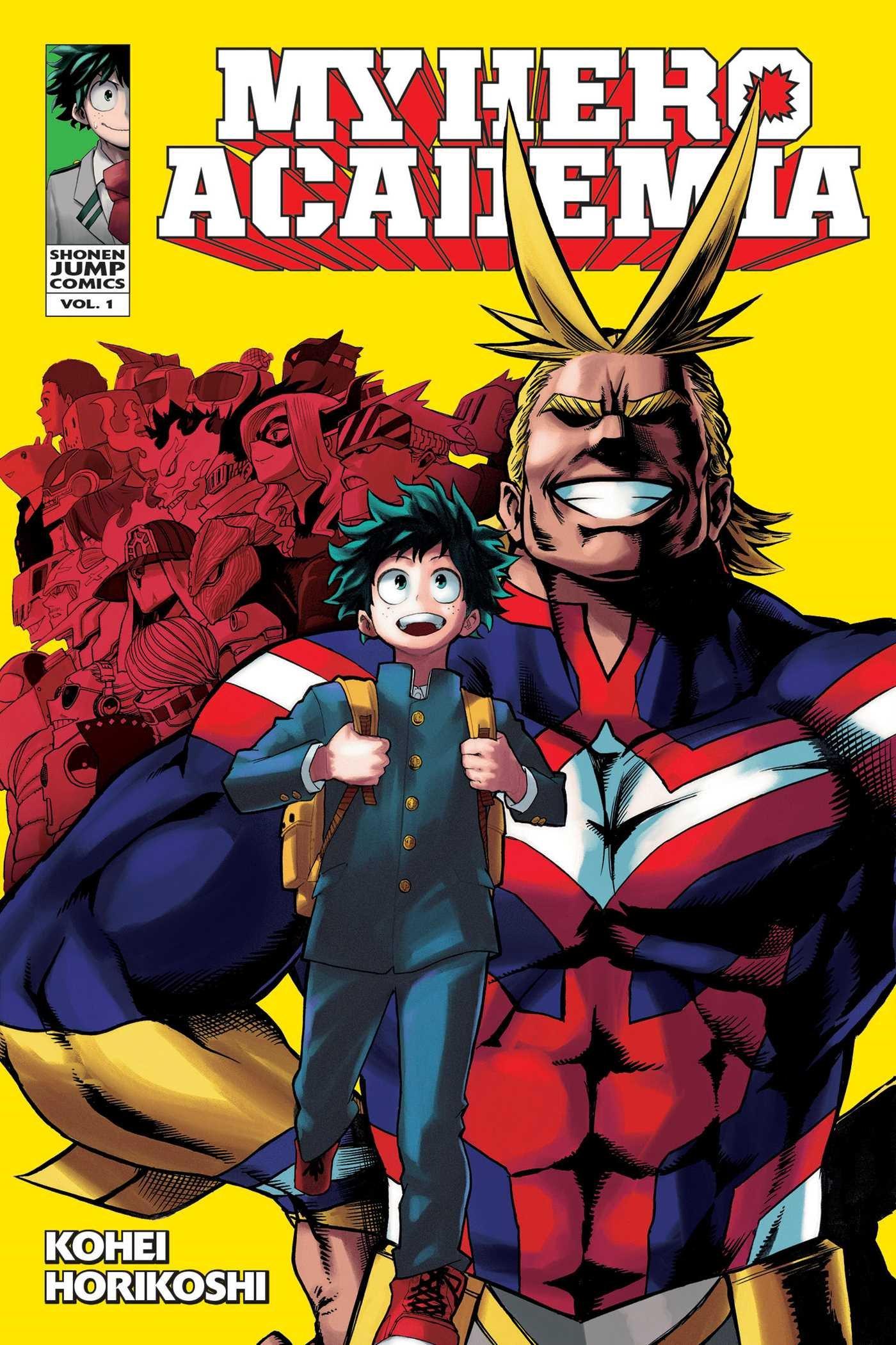 Amazon.com: My Hero Academia, Vol. 1 (1) (9781421582696): Kohei Horikoshi,  Caleb D. Cook: Books