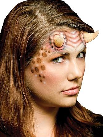 d8075f529e2 Amazon.com: Woochie Classic Latex Horns - Professional Quality Halloween  Costume Makeup - Alien - 2 Pieces: Clothing