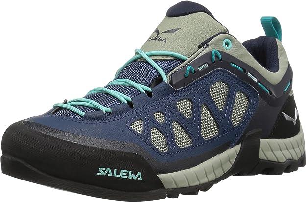 Salewa Ws Firetail 3, Zapatillas de senderismo Mujer, Verde/Azul (Dark Denim/Aruba Blue 0359), 36.5: Amazon.es: Zapatos y complementos