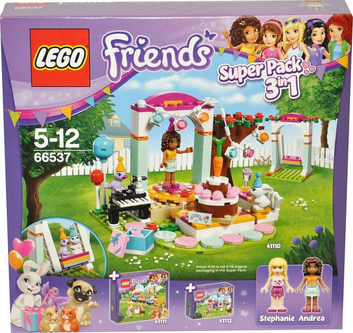Terrific Lego Friends 66537 Superpack 3In1 Birthdayparty Amazon Co Uk Personalised Birthday Cards Paralily Jamesorg