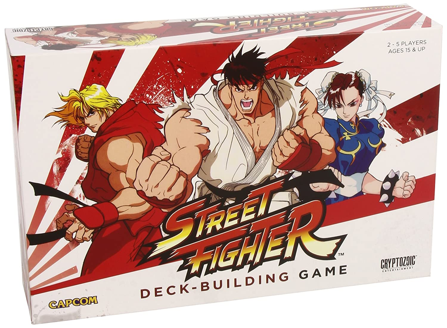 Cryptozoic CapCom Street Fighter Building Game Card Game
