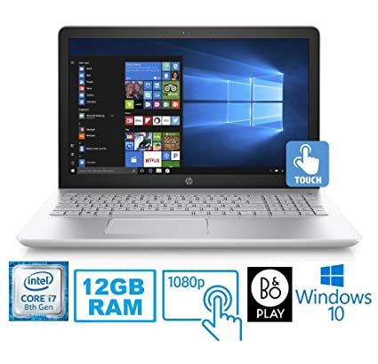 "Amazon.com: HP Pavilion 15-CC Intel Core i7-8850U 12GB 1TB HDD 15.6"" FHD Touch Screen Laptop (Renewed): Computers & Accessories"