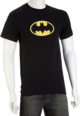 Batman Logo Camiseta Retro DC Comics Negro Calidad: Amazon.es: Música
