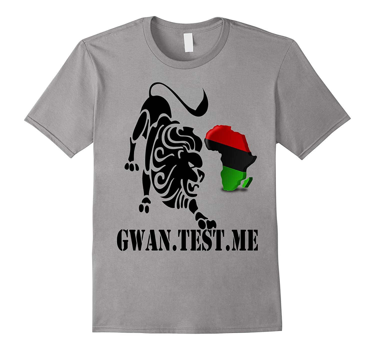 AFRICAN PRIDE Lion Alkebulan Kemet Clothing T Shirt Tee-CD