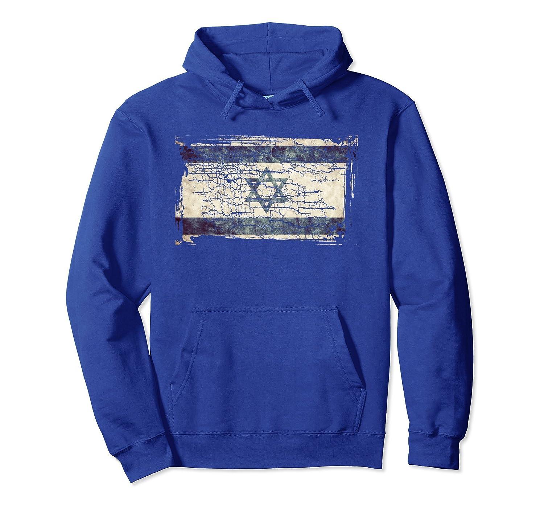 Unique Trendy & Vintage Israel Flag Gift Hoodie G003724-Teesml