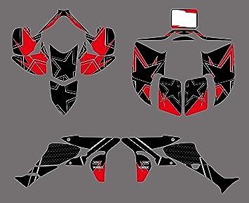Adhesivo de Motocross Modificado Moto calcomanías de ...