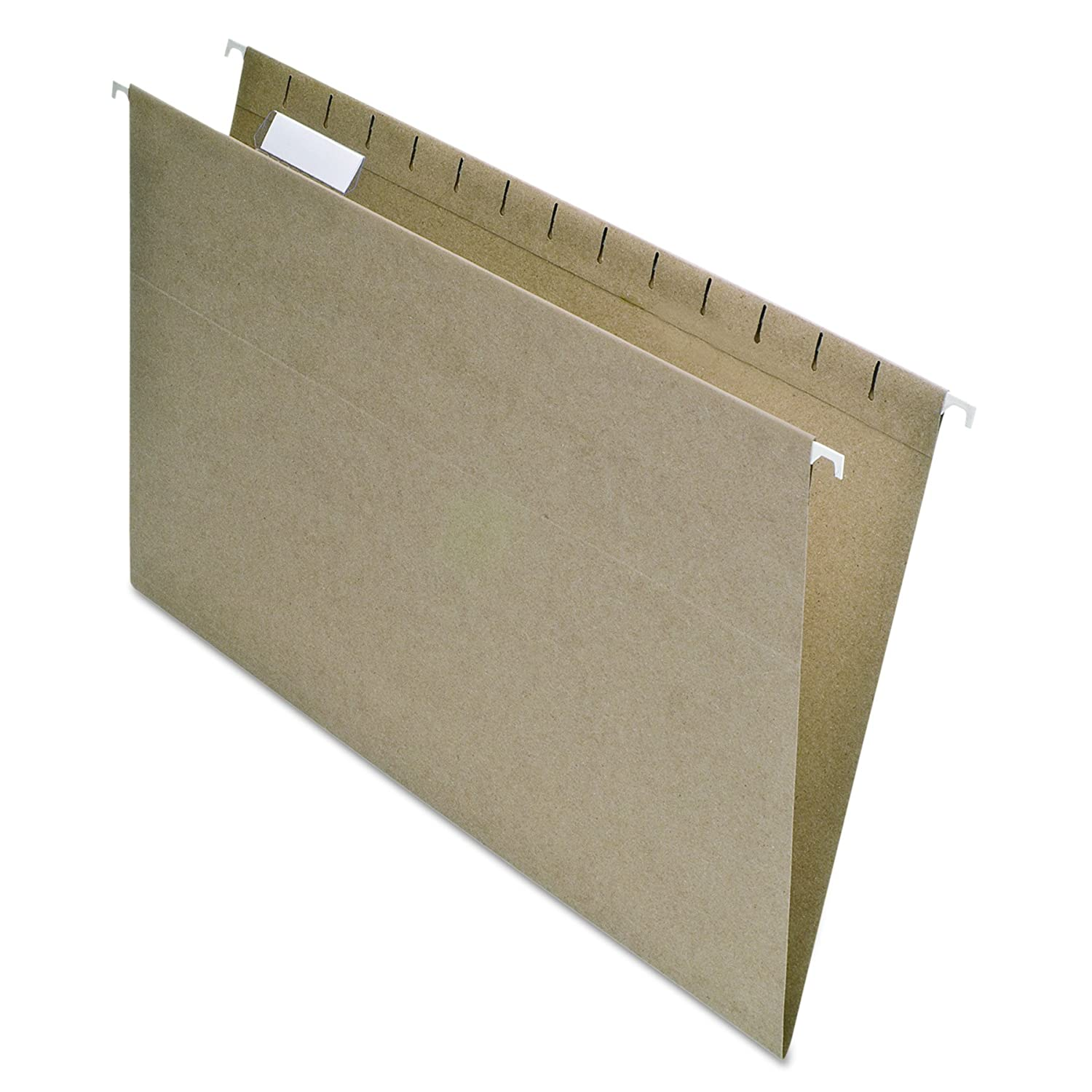 EarthWise by Pendaflex 100% Recycled Hanging File Folders, Legal Size, 1/5 Cut, Natural, 25 per Box (76542) Esselte Corporation PFX76542