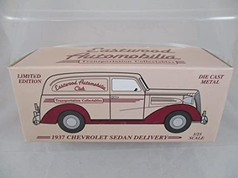 Amazon Com Eastwood Automobilia Club 1937 Chevrolet Sedan