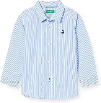 United Colors of Benetton Camicia Camisa para Niños